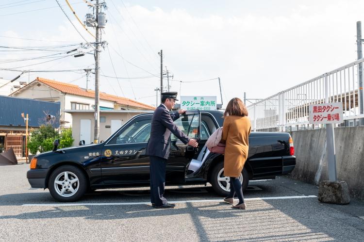 地域密着の「やさしいタクシー会社」